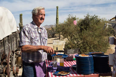 Ranch owner Bob cote Tanque Verde Ranch Arizona