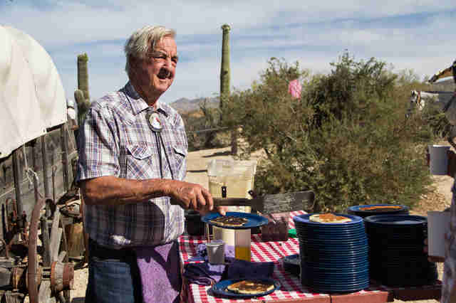 Ranch owner Bob cote Tanque Verde Ranch Arizona
