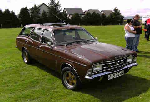 Brown Wagon