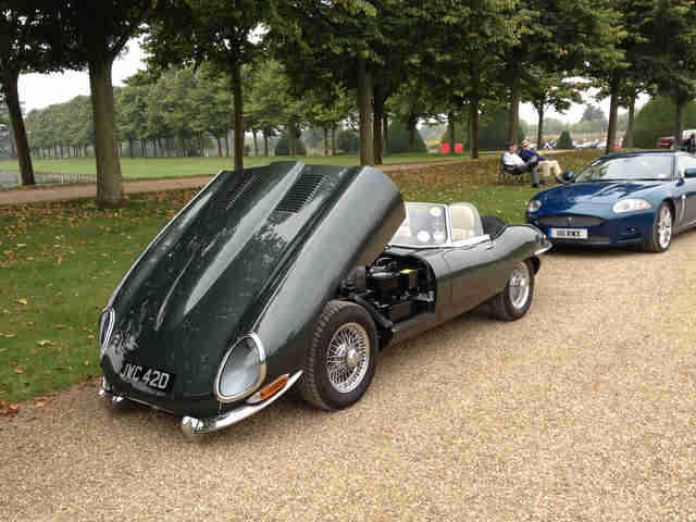 British Racing Green Jaguar E-Type