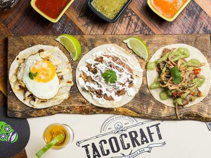 Best tacos in Miami at TacoCraft
