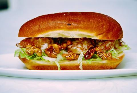 general tso chicken sandwich