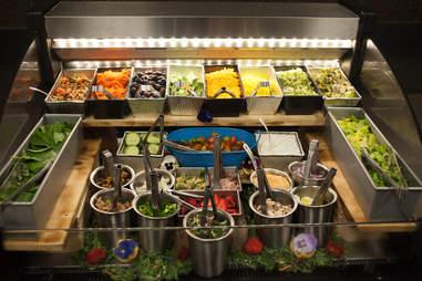 Toruk Cirque du Soleil salad bar