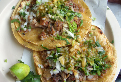 Miami's best traditional tacos at Viva Mexico