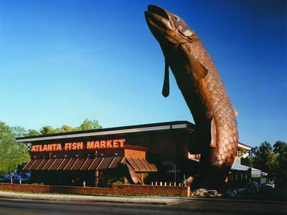 atlanta fish market exterior