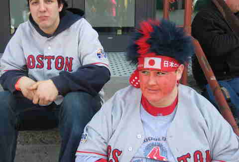 boston sox fans