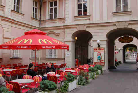 McDonald's in Prague