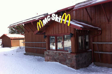 Ski-up McDonald's Sweden