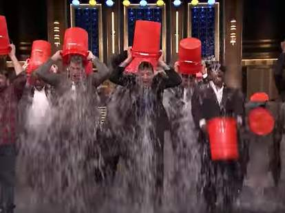 Tonight Show Ice Bucket Challenge