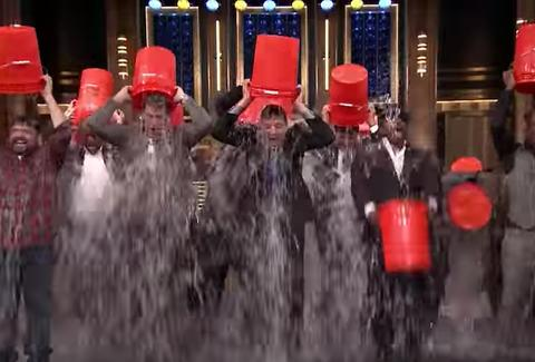 Tonight Show Ice Bucket Challenge