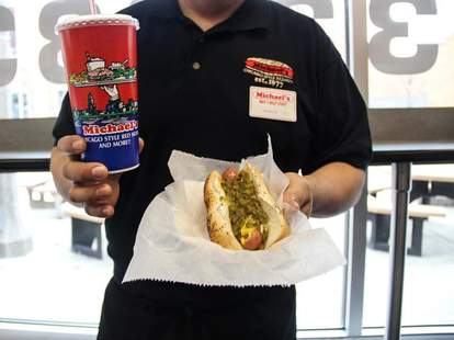 michael's chicago-style red hots