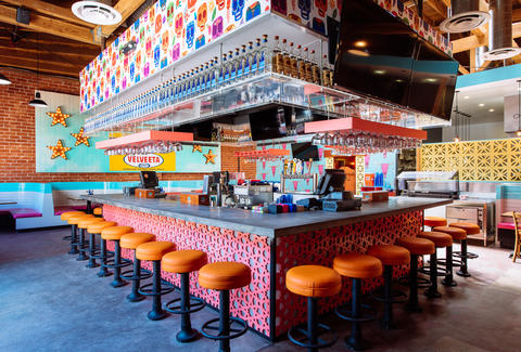 El Tejano North Hollywood interior