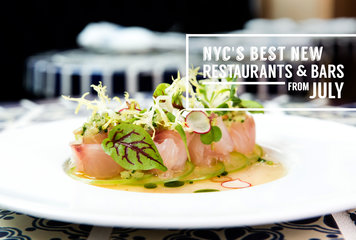 The Best New Bars & Restaurants That Opened in NYC This July