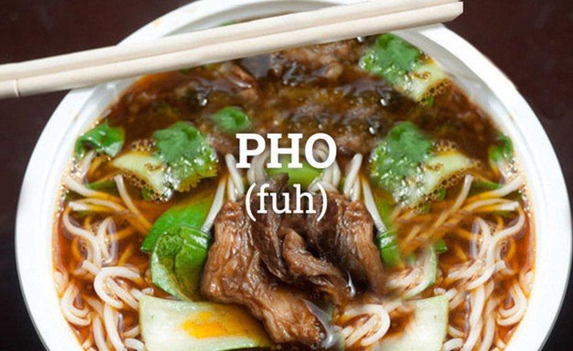 Commonly Mispronounced Food Words Sriracha Pho Tzatziki And