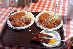 Little Pigs BBQ buffet