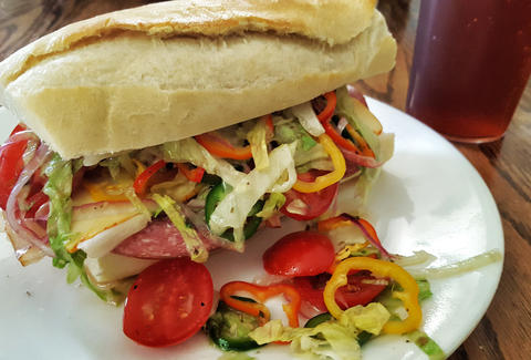 Fresh sandwiches and late night food at Beezer's in downtown Columbia