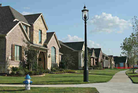 Homes in Suburban dallas