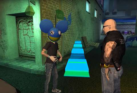 Absolut deadmau5 VR Game