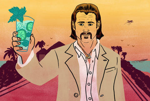 Miami Vice Colin Farrell Mojitos