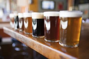 beer flight bar