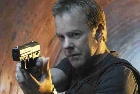 24 on amazon prime kiefer sutherland
