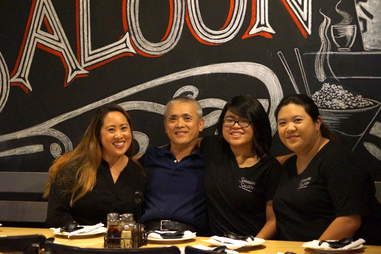 Family behind Shanghai Saloon and Dumpling Inn