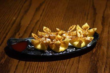 Cream cheese wontons Dumpling Inn