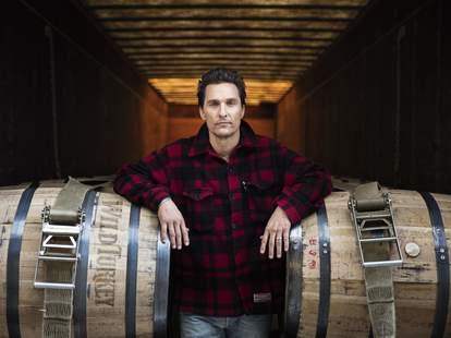 Matthew McConaughey Wild Turkey