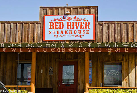 red river steakhouse exterior