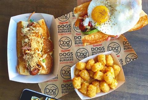 Craft hot dogs and burgers at DogHaus Las Vegas