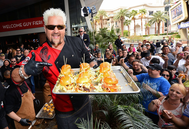 Did Guy Fieri Just Screw Over Millions of NBA Fans?