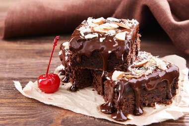 Chocolate gooey cake