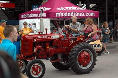 Tractor at Indiana State Fair
