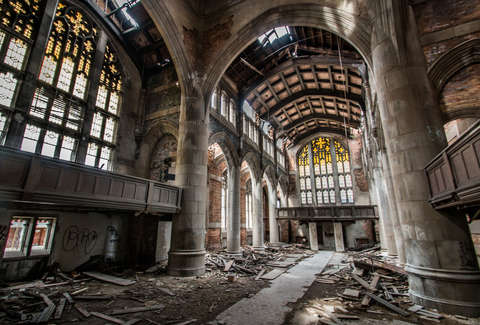 The 28 Most Insane Abandoned Places In The Midwest Thrillist