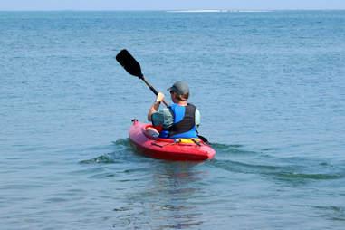 Detroit kayaking