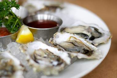 Little Town oysters