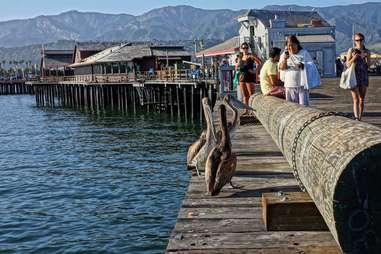 Stearns Wharf Pier