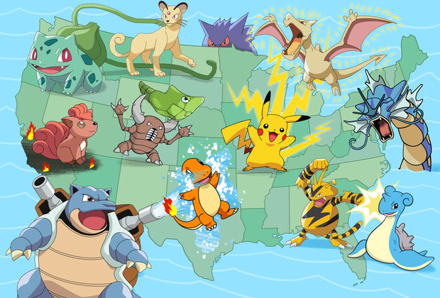 The Perfect Pokémon for Every State