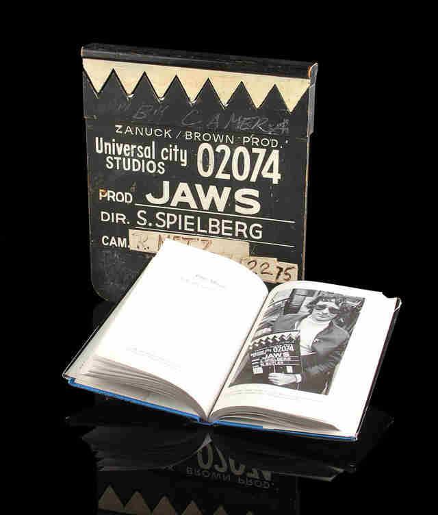 Jaws Clapboard Auction