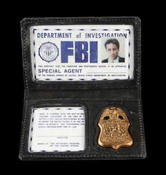 X-Files Badge Auction