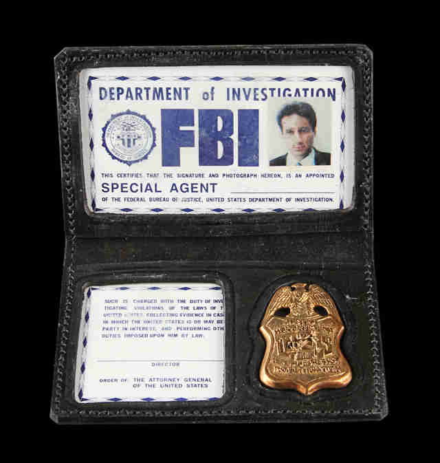X-Files Badge Auction