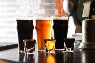 Beer before liquor