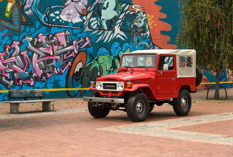 Restored FJ Toyota Land Cruiser