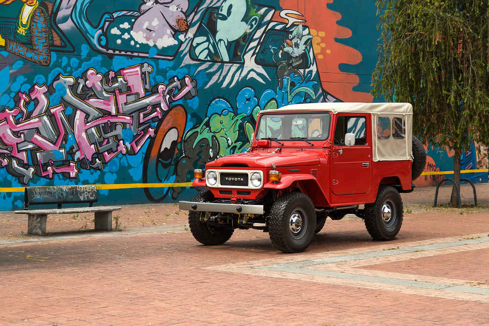Toyota Land Cruiser FJ40s for Sale, Used but Completely Restored