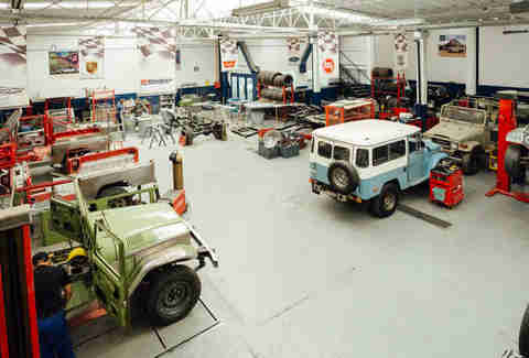 FJ Company's Land Cruiser Restoration Facility