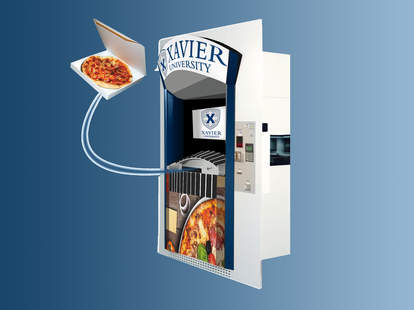 Pizza ATM Xavier University
