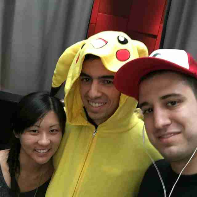 Pokemon Go master catches them all