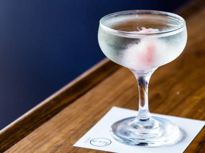 martini at Bar Goto
