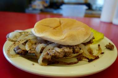 Robert's Grill Onion Burger El Reno Oklahoma