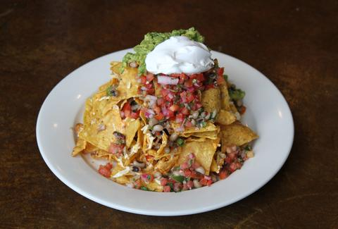 Busboys and Poets vegan nachos